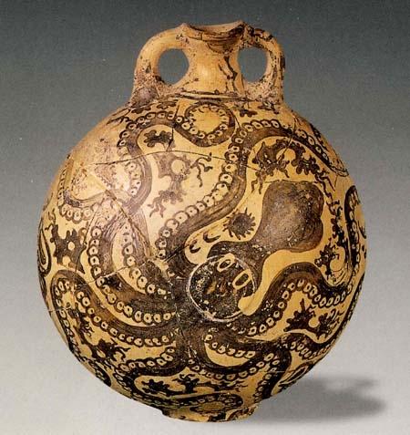 Эгейская скульптура и прикладное искусство Крита