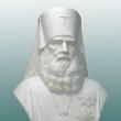 Гипсовый бюст святителя Иннокентия Митрополита Московского