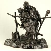 Художественное литье скульптур из чугуна