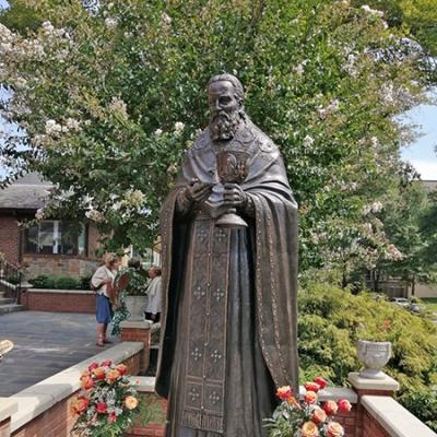 Открытие в Вашингтоне памятника прп. Иоанну Кронштадтскому