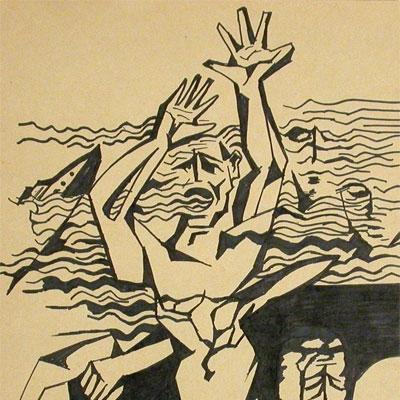 Графическая работа «Уходим под воду...»