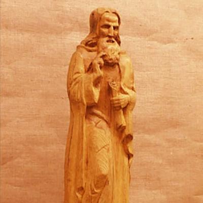 Сергий Радонежский  скульптура