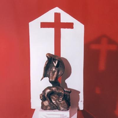 Скульптура Пьета,  эскиз надгробия
