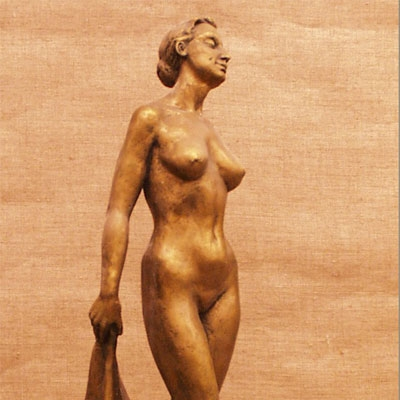 Cкульптура  этюд