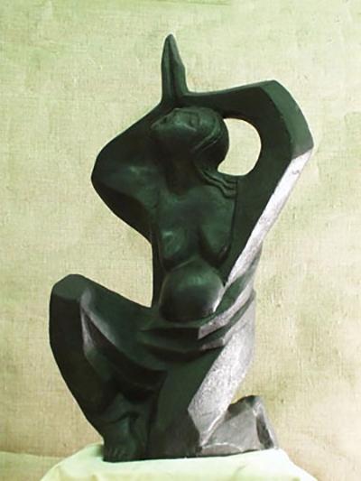 Крик  скульптура