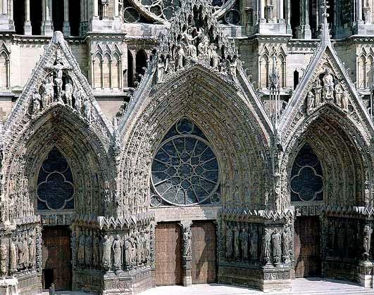Готическая скульптура (конец 12-14 век)