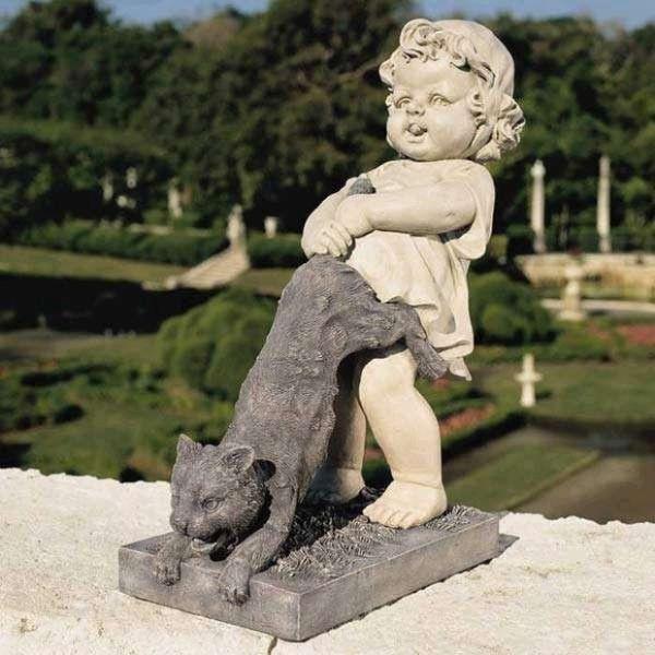Изготовление садовой и парковой скульптур