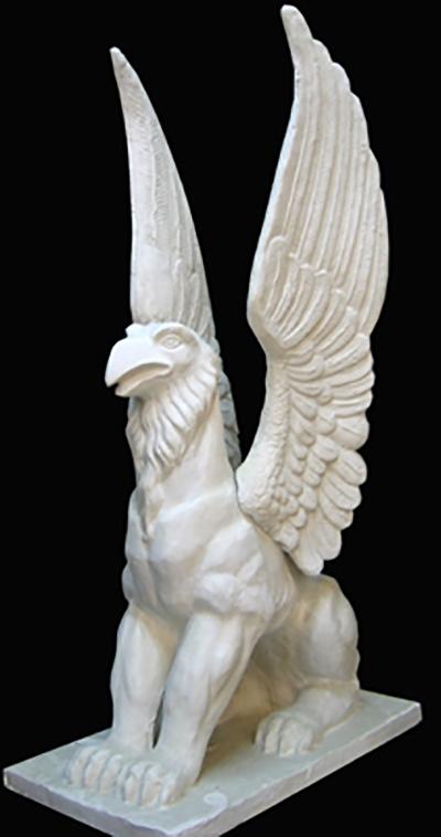 Грифон  скульптура