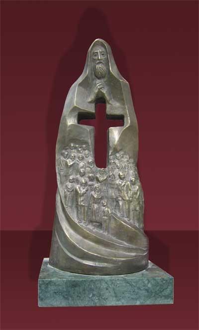 Молитва  скульптура
