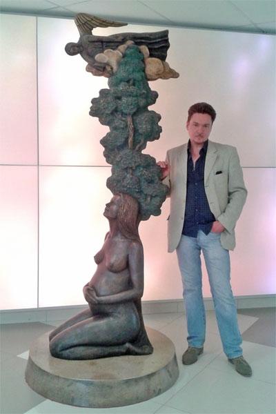 Скульптура «Благословенная»