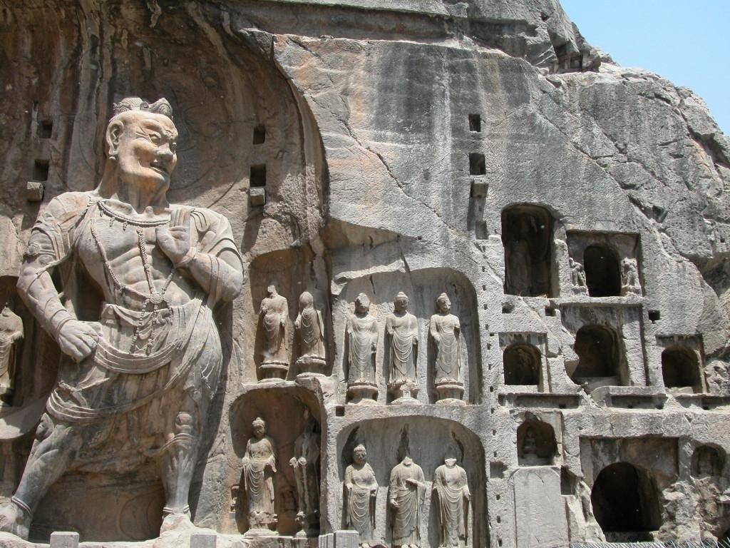 Скульптура среднего Китая 4-6 веков н.э. (период Северное Вэй)