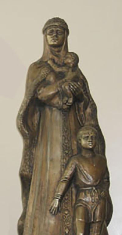 Св. Евфросиния  скульптура